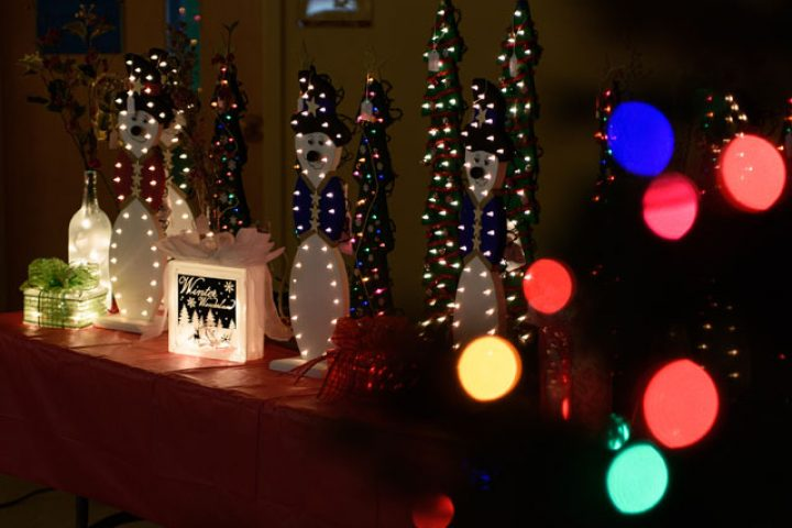 Christmas Light Crafts