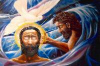 Baptism of Christ by David Zelenka,